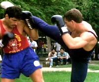 Van Damme in Kickboxer