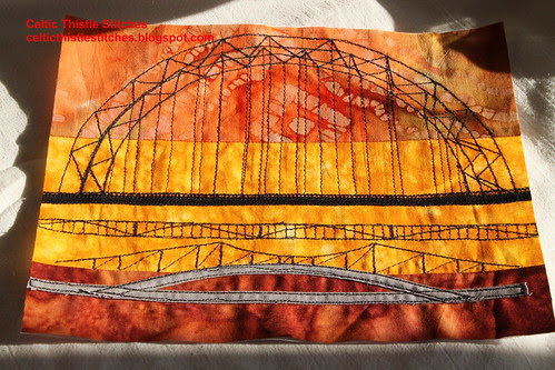 Tyne Bridges Star of Africa Bee block