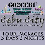 Cebu City + Crown Regency Sky Experience Adventure + Pescador Island Hopping Tour Itinerary 3 Days 2 Nights Package