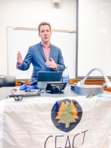 U of Minnesota Gophers dig into new semester at CFACT interest meeting! 2