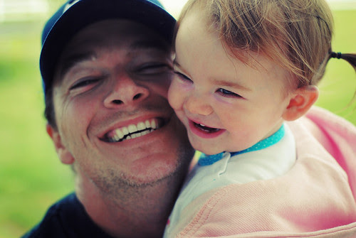 ... I'm so glad when daddy comes home!