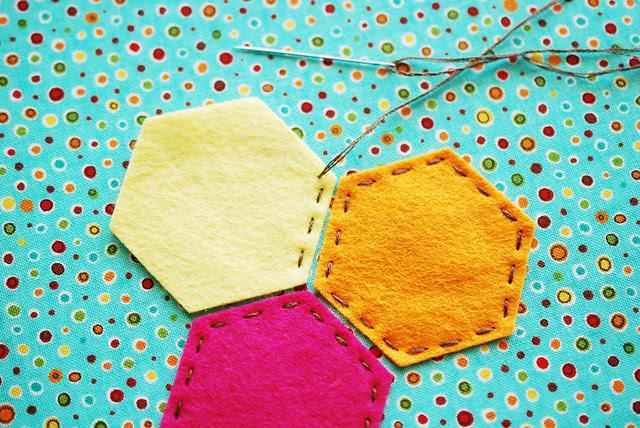 Hexagon Lemonade Coaster