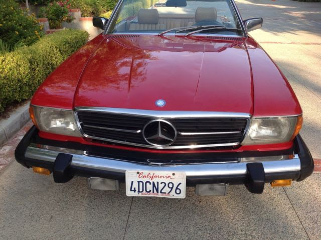 1980 Mercedes 450SL Southern California time capsule with ...