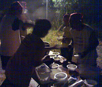 assam laksa being served