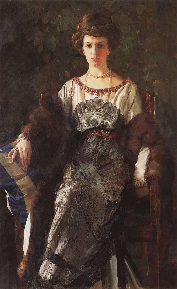 Портрет Е.П.Носовой. 1911