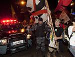 Manifestantes fazem protesto contra a visita do presidente Barack Obama ao Rio de Janeiro Leia Mais
