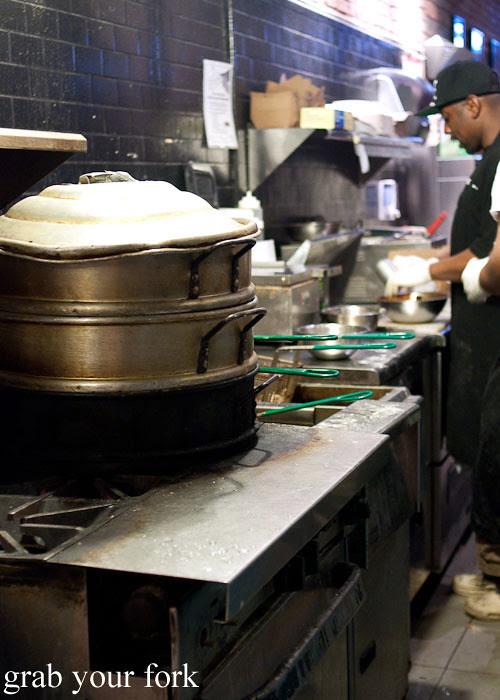 kitchen steamer at baohaus new york nyc east village