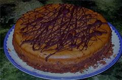 Chocolate cheesecake by Teckelcar