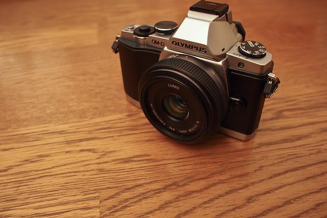 Olympus E-M5 OM-D + Panasonic 20mm f/1.7