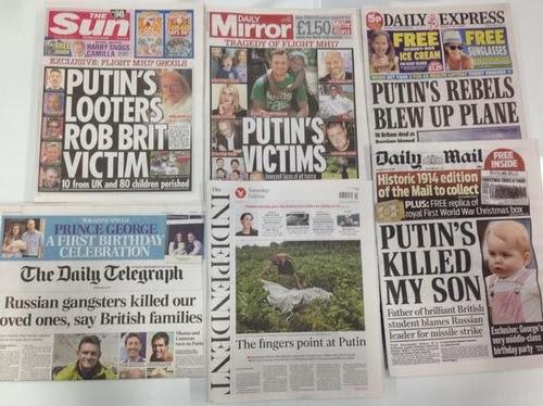 Un nuovo minimo nei media occidentali