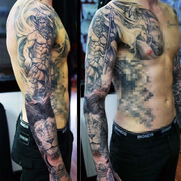 Greek Mythology Tattoos Design For Men Tattoosera