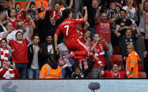 Premier League - Liverpool v Sunderland, Luis Suarez
