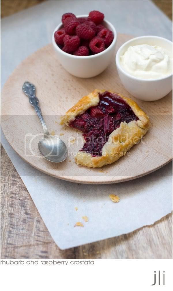 rhubarb and raspberry crostata,sour cream pastry,jillian leiboff imaging,sydney,food photography