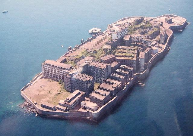 Hashima Island (postcard view)