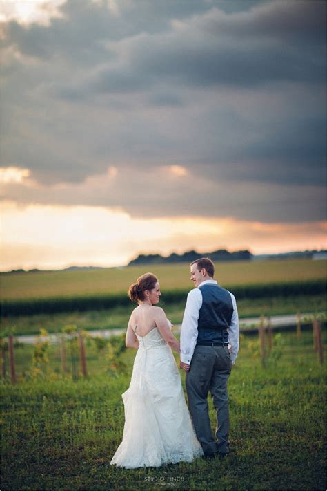 Over The Vines Madison Wedding Photographer Janesville