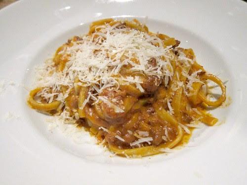 Tagliatelle with Bolognese