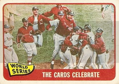 #139 World Series: The Cards Celebrate (back)