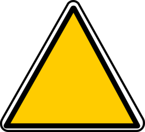Blank Yellow Sign - ClipArt Best