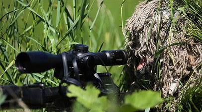 Снайперы спецназа ЮВО приступили к новому курсу спецподготовки по стрельбе