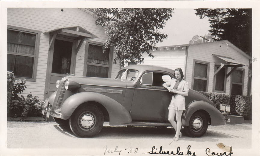 Los Angeles Past Mom S First Car At The Silver Lake Auto