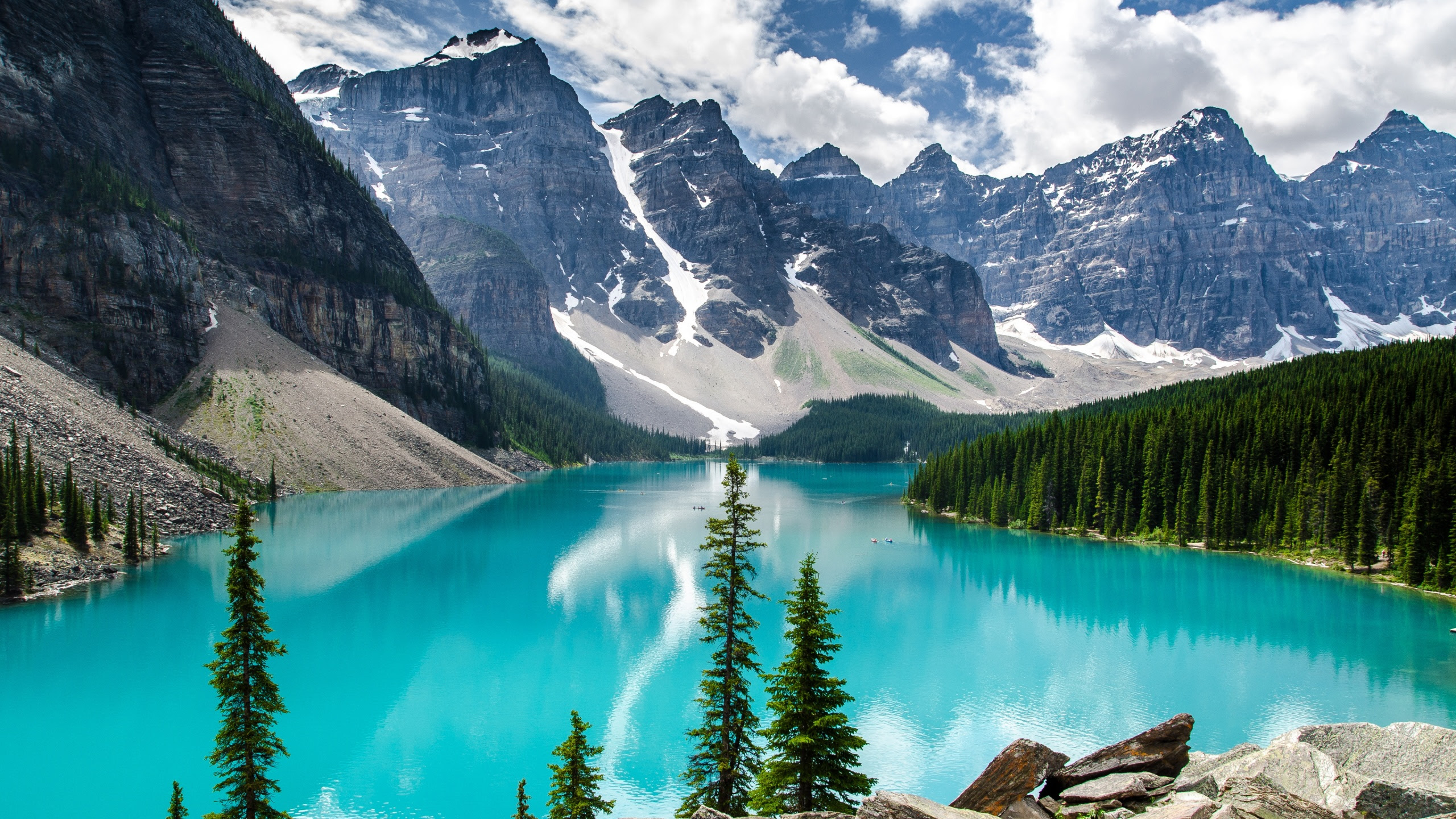 Moraine Lake Banff National Park Wallpapers In Jpg Format For Free