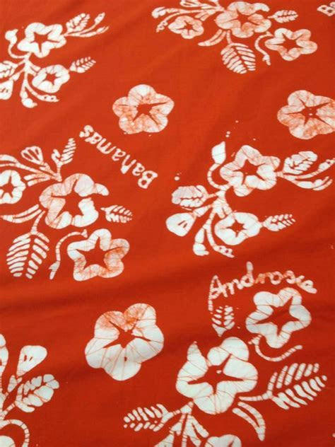 1000  images about Androsia and Bahamian fabrics on Pinterest