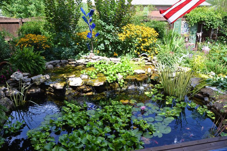 Backyard water feature ideas pinterest