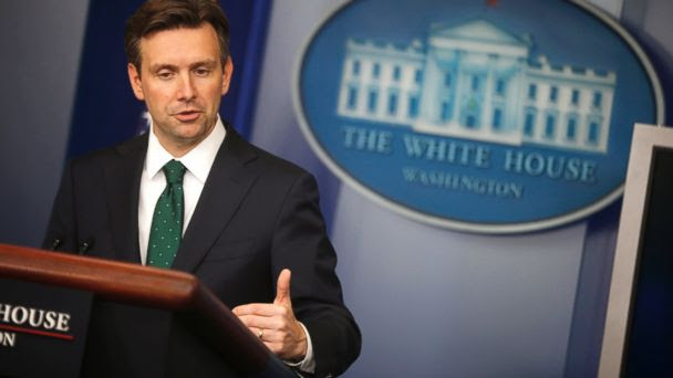 ap josh earnest mt 140912 16x9 608 In Shift, White House Calls ISIS Fight A War