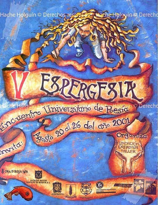 Ilustración para Espergesia por Hache Holguín