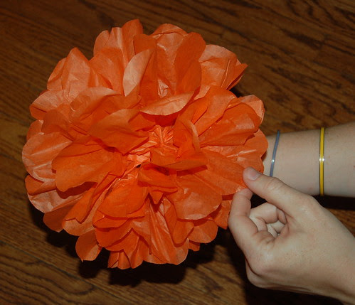 tissue paper flowers how to make. DIY: How to Make Tissue Paper