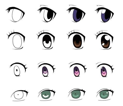 anime eyes   steps   part   jellylemons