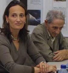 Táboas e Díaz Pardo por Antonio López para A Mariña