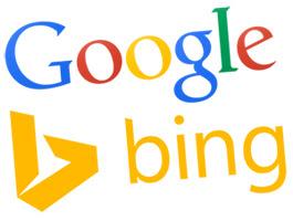 google-bing-new-logos