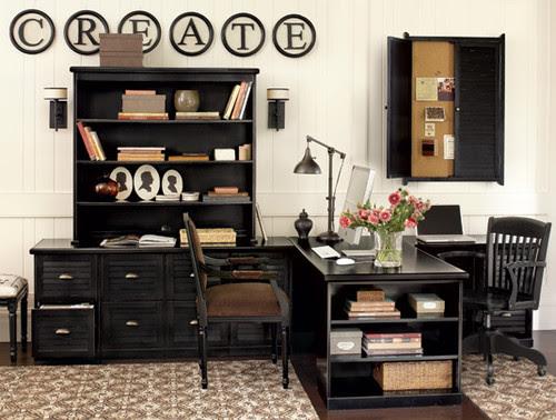Home Office Designs | Home Office Decor | - Ballard Designs modern home office