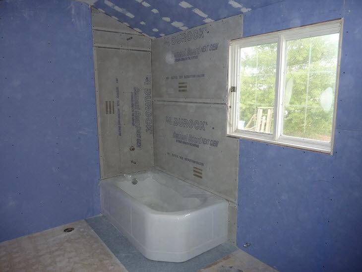 "Our ""Murder"" Bathroom Total Renovation   DiyDork.com"