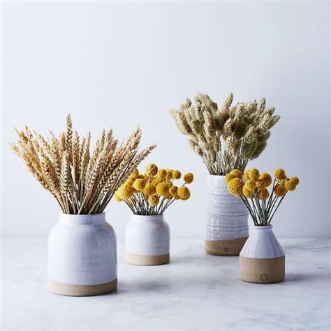 Handmade Ceramic Vase & Dried Floral Arrangement on Food52
