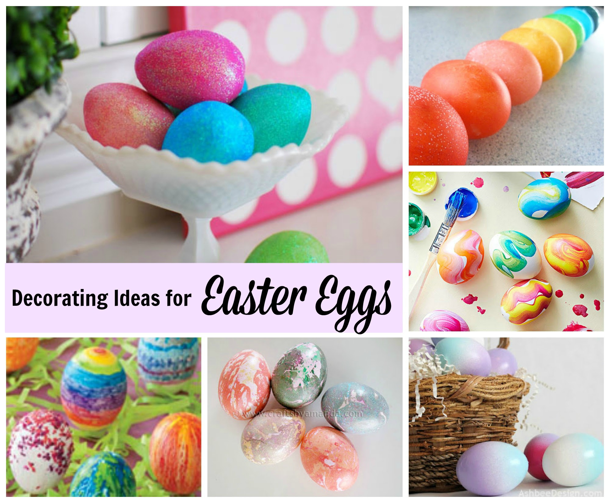 Easter Egg Decorating Ideas Celebrating Holidays