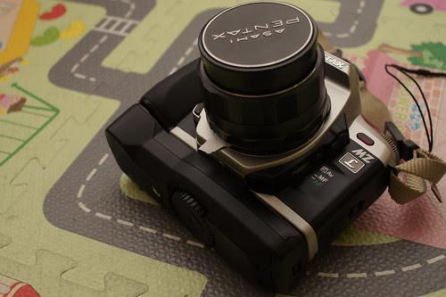 M42 lens on Pentax MZ-L