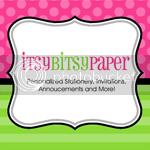 itsy bitsy paper