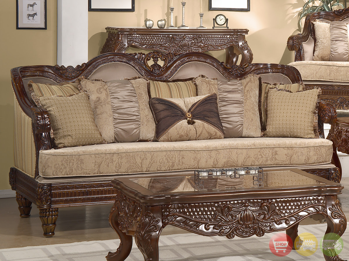 Formal Luxury Set Traditional Living Room Furniture HD-386 ...