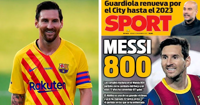 Messi set to make 800th appearance for Barcelona vs Atletico Madrid on Saturday
