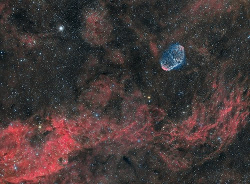 NGC6888- Crescent Nebula