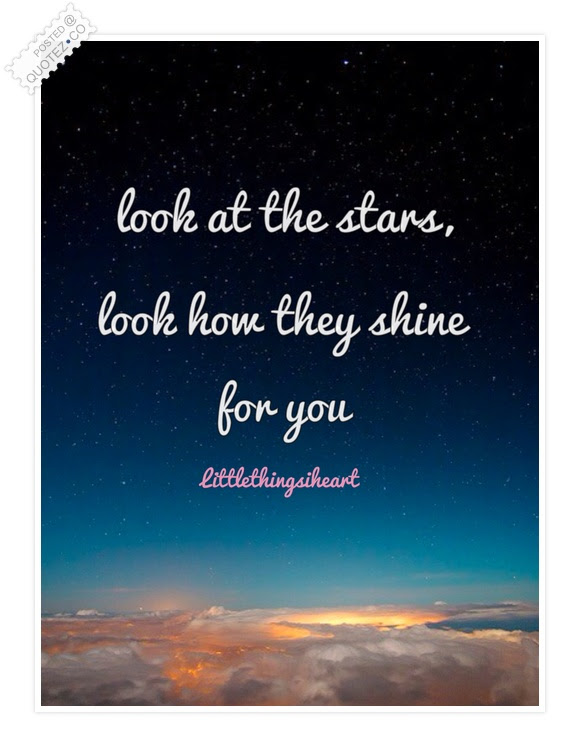 Look At The Stars Motivational Quote Quotezco