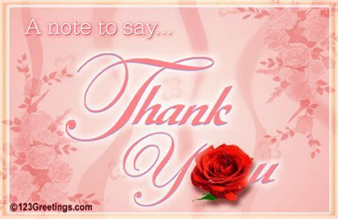Thank You! Free Thank You eCards, Greeting Cards   123