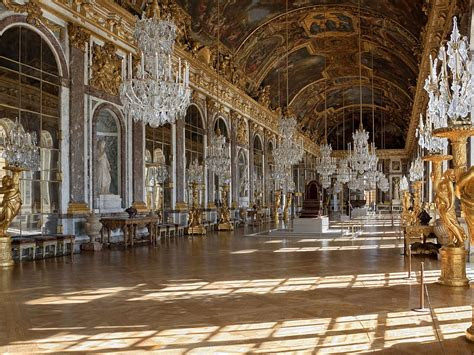 hall  mirrors palace  versailles wallpaperscom