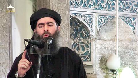 """The self-proclaimed """"Caliph,"""" Abu Bakr al-Baghdadi"""