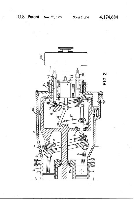 Patent US4174684 - Variable stroke internal combustion
