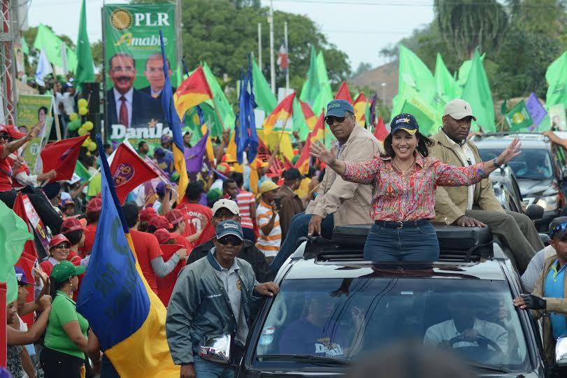Margarita afirma Danilo y Leonel están unidos por el bien del país