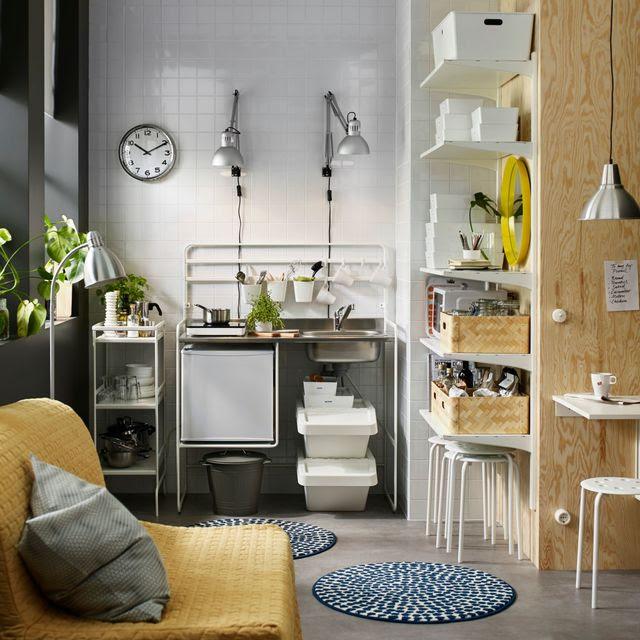 Une Vraie Cuisinemême Dans Un Petit Studio Côté Maison