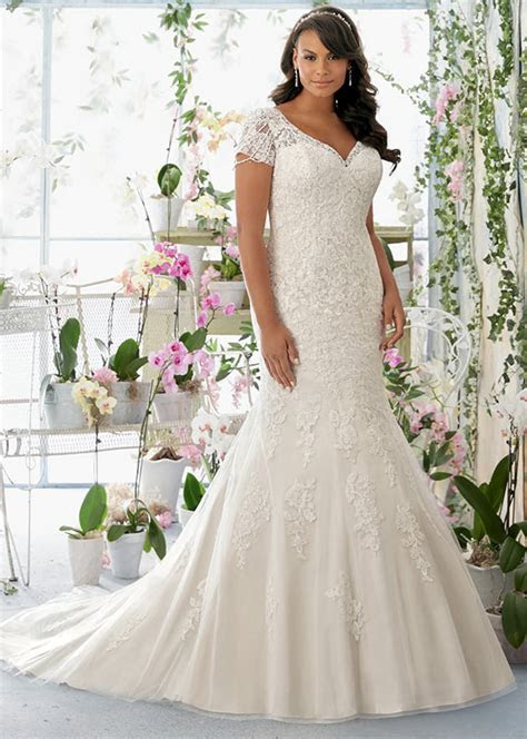 Plus Size Wedding Dresses By Mori Lee   Julietta Collection